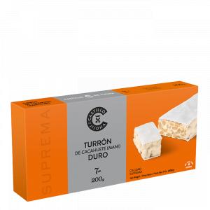 Turron Cacahuete Duro Nougat mit Erdnüssen