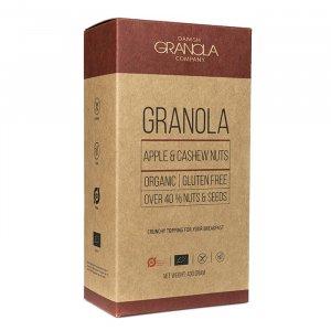 Granola Apfel Cashewnüsse