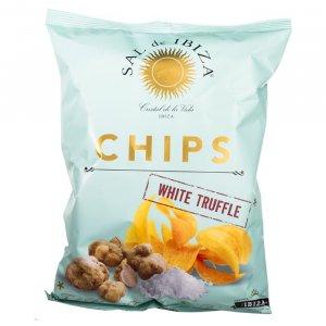 Chips mit weißen Trüffeln