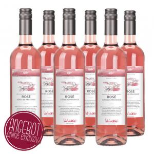 6er Paket 2018 Rosé, Côtes de Provence, Frankreich