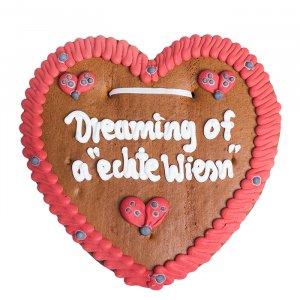 """Wiesn Lebkuchenherz """"Dreaming of a echte Wiesn"""""""