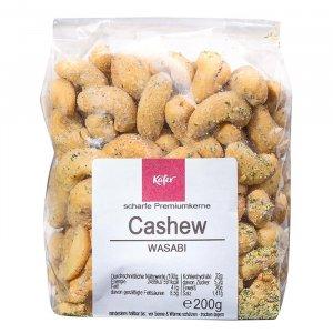 Cashewkerne mit Wasabi