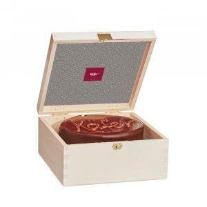Schokoladentorte in der Holzbox