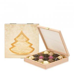 Weihnachtstrüffelmischung in Geschenkbox
