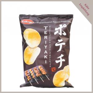 Kartoffelchips Teriyaki
