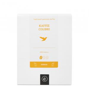 Kaffee Colibri, gemahlen