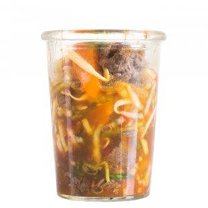 Rindfleisch Salat asiatisch