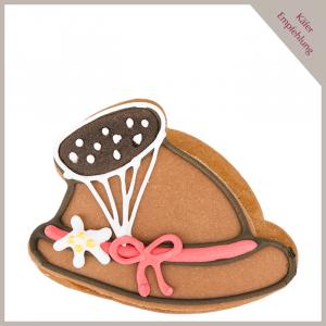 Lebkuchen Keks Trachtenhut