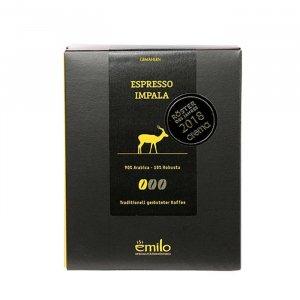 Espresso Impala gemahlen von emilo
