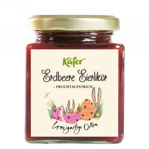 Erdbeere Eierlikör Fruchtaufstrich