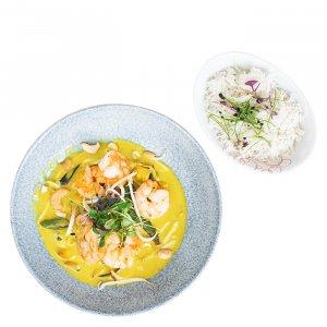 Garnelen Thai Curry