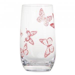 Mustermix Glas Schmetterling