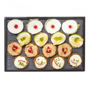 Canapé-Package vegetarisch