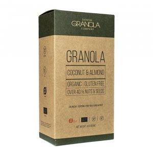 Granola mit Kokosnuss und Mandel