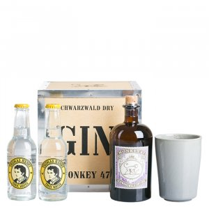 "Gin & Tonic Set ""Monkey 47 mit Becher"""