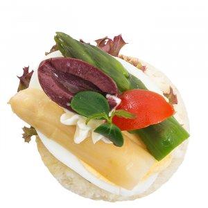 Spargel Canapé