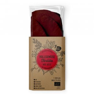 Bio Rote Beete Tortillas