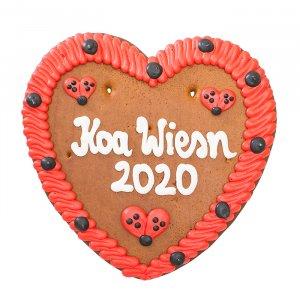 """Lebkuchenherz """"Koa Wiesn 2020"""""""