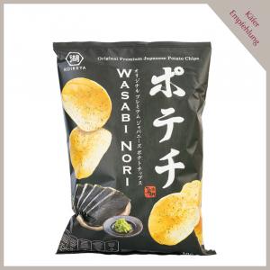 Kartoffelchips Wasabi Nori
