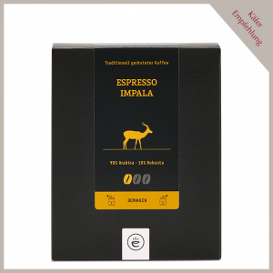 Espresso Impala, gemahlen