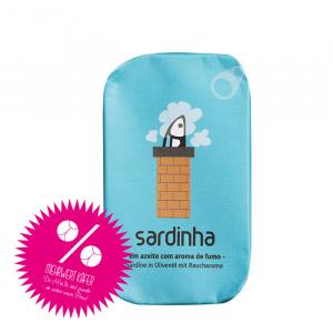 Sardinen in Olivenöl mit Raucharoma