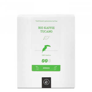 Bio Kaffee Tucano, gemahlen