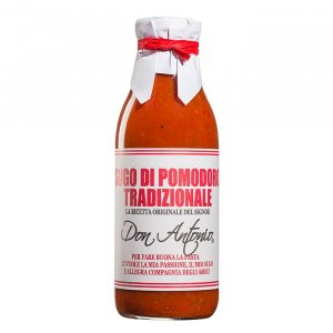 Tradizionale Tomatensauce mit Oregano