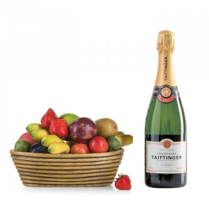 Frucht-Alarm mit Champagner