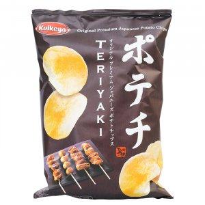 Kartoffelchips Teriyki