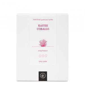 Kaffee Corallo, ganze Bohne