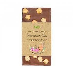 Osterschokolade mit Piemonteser Nuss