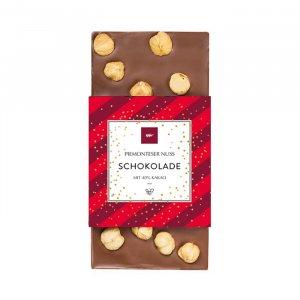 Piemonteser Nussschokolade Weihnachten
