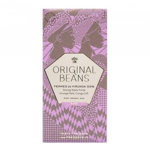 Femmes de Virunga 55% Milchschokolade von Original Beans