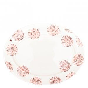 Platte oval, 32cm